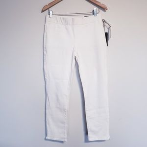 NWT NYDJ White Ankle Jeans 8P